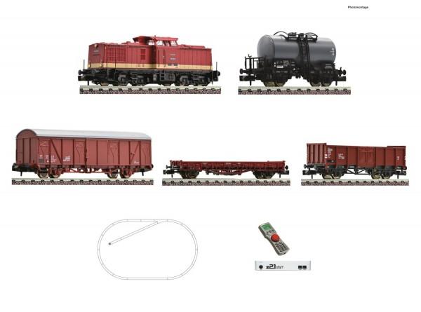 N z21-Digitalset: Diesellokomotive BR 110 mit Güterzug DR Ep.4