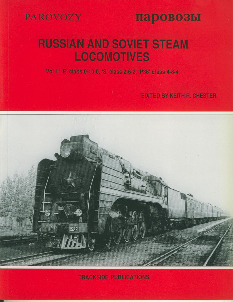 Buch Russian and Soviet Steam Locomotives