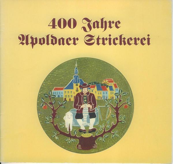 Buch 400 Jahre Apoldaer Strickerei 1593-1993