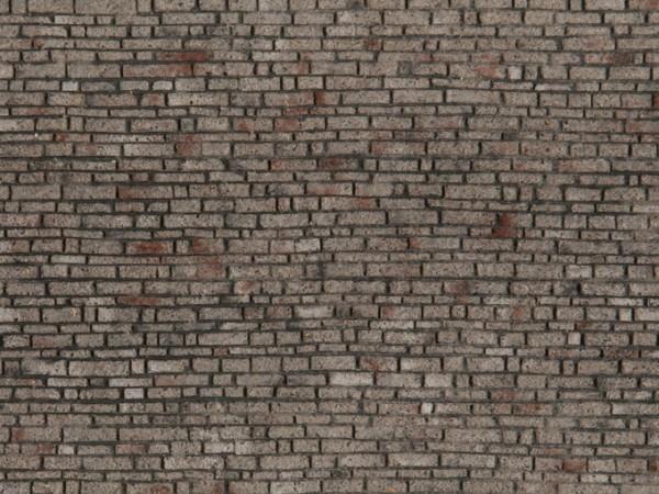 H0 Struktur-Folie 'Schichtmauerwerk' NH2020