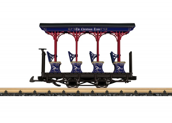 G US-Feldbahn-Personenwagen/2a. 'Weihnachtswagen zu Chloe' NH2020