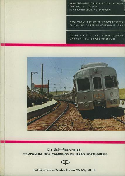 Buch Die Elektrifizierung der Companhia dos Caminhos de Ferro Portugueses (CP)