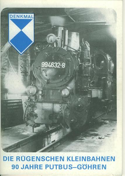 Buch Die Rügenschen Kleinbahnen - 90 Jahre Putbus-Göhren