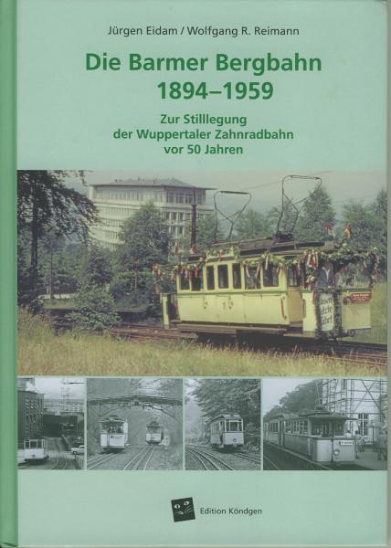 Buch Die Barmer Bergbahn 1845-1959