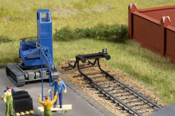 H0 Prellbock geschwunge Schiene 2-Stück NH2020(09)