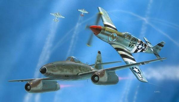 Combat Set Me262 & P-51B
