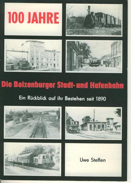 Buch Die Boizenburger Stadt- und Hafenbahn - Ein Rückblick auf ihr Bestehen seit 1890