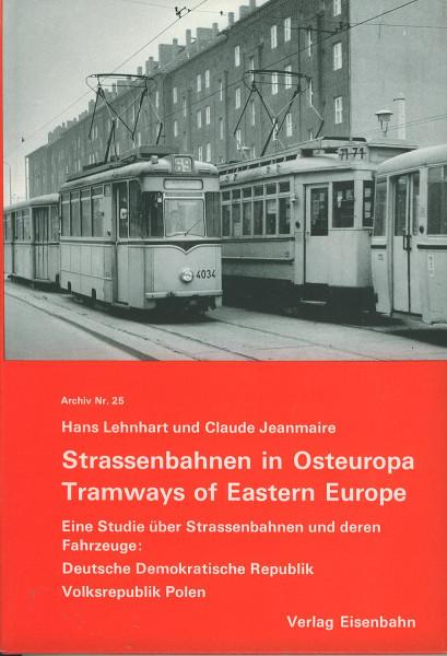 Buch Strassenbahnen in Osteuropa - DDR und Volksrepublik Polen