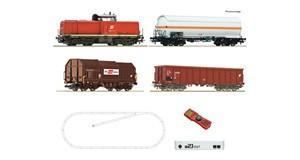 H0 z21 start Digitalset: Diesellokomotive Rh 2048 mit Güterzug, ÖBB, Ep.5, DCC