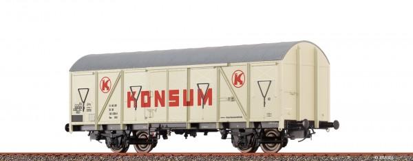 H0 Güterwagen Gos 1404 DR, IV, Konsum