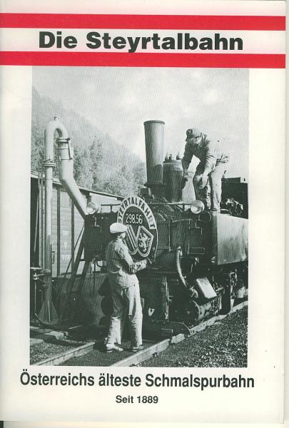 Buch Die Steyrtalbahn - Österreichs älteste Schmalspurbahn - seit 1889
