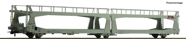 H0 Autotransportwagen/3-achs. STVA Ep.VI grau