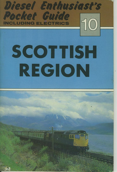 Buch Diesel Enthusiast's Pocket Guide 10 - Scottish Region