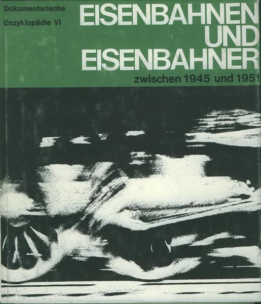 Buch Eisenbahn und Eisenbahner zwischen 1945 und 1951