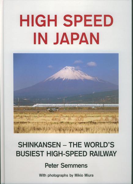 Buch High Speed in Japan - Shinkansen