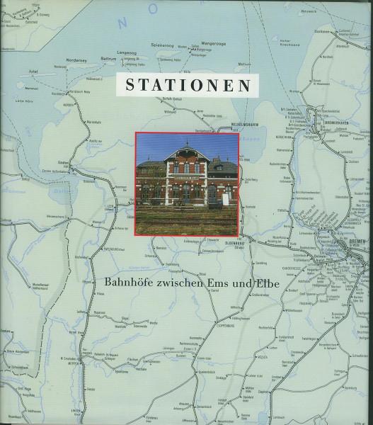 Buch Stationen - Bahnhöfe zwischen Ems und Elbe