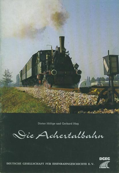 Buch Die Achertalbahn