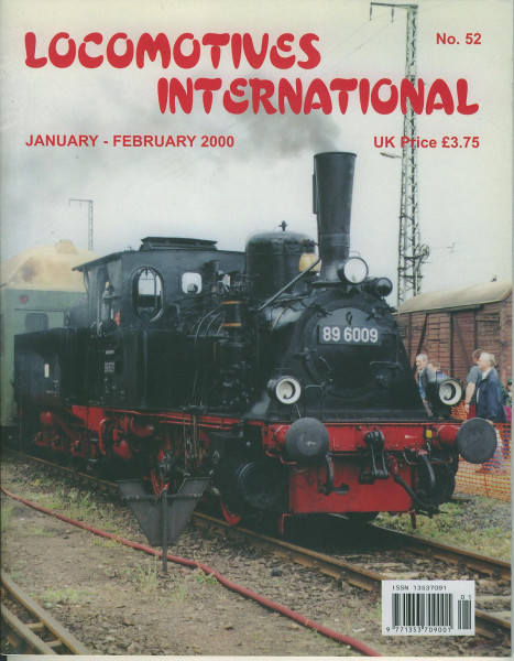 Heft Locomotives International 52