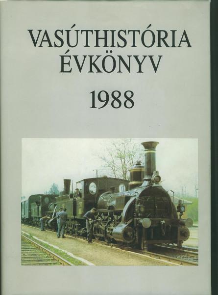 Buch Vasuthistoria Evkönyv 1988
