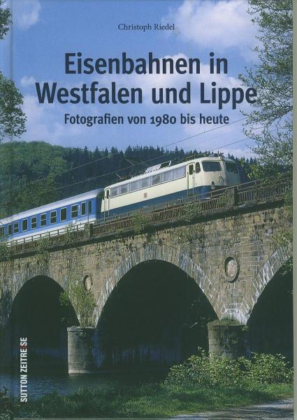 Buch Eisenbahnen in Westfalen und Lippe - Fotografien von 1980 bis heute