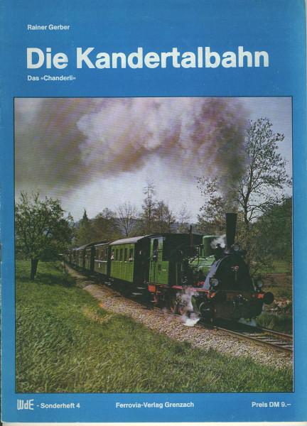 Buch Die Kandertalbahn - 's Chanderli