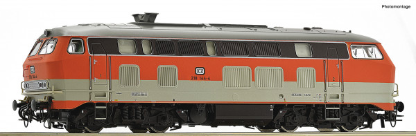 H0 Diesellok BR 218.134 DB Ep.IV City-Bahn SOUND