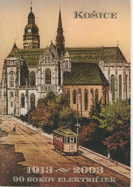 Buch Kosice - 1913-2003 - 90 Rokov Elektriciek