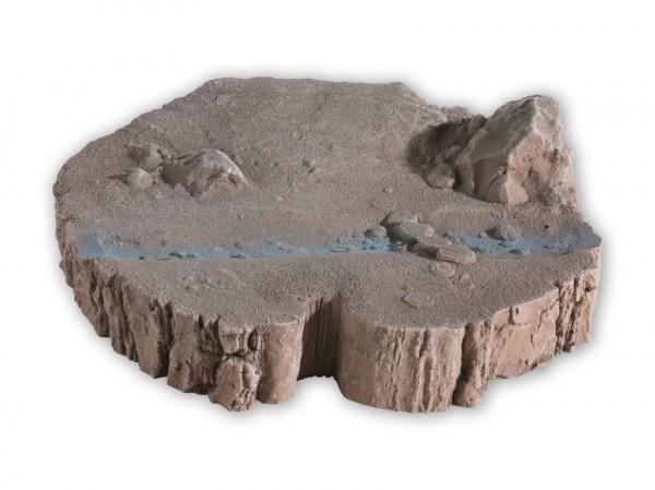 Dioramen-Base 'Treetrunk'