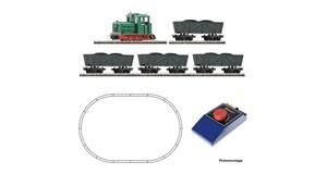 H0 Analog Start Set: Feldbahndiesellokomotive mit Lorenzug, , Ep.3-6, DC