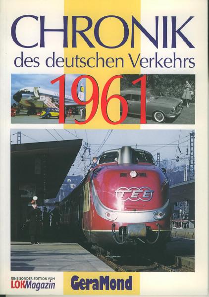 Buch Chronik des deutschen Verkehrs 1961