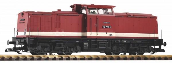 G Diesellok BR110.772 DR-4 rot ANALOG