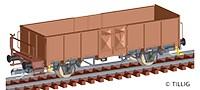 TT Güterwagen off. Es050 DB Ep.IV