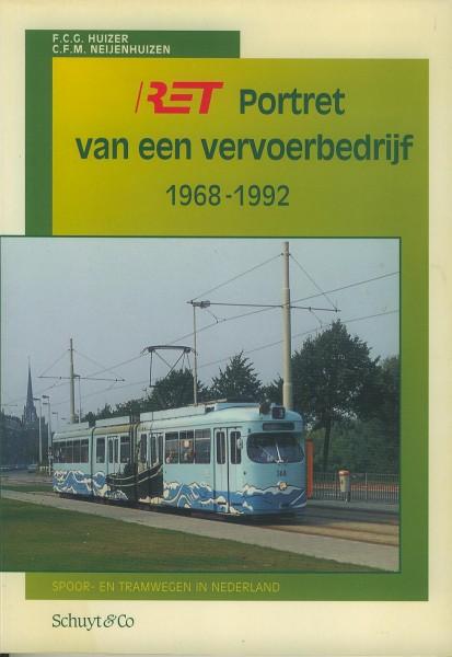Buch RET Portret van en vervoerbedrijf 1968-1992
