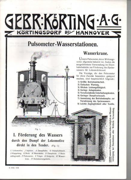 Buch Gebr. Körting AG - Pulsometer-Wasserstationen REPRINT
