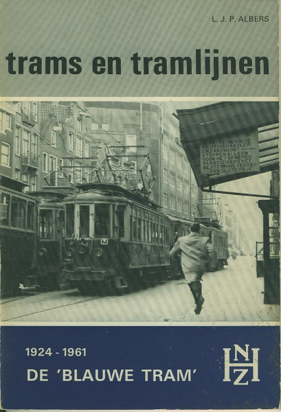 Buch De BLAUWE TRAM 1924-1961