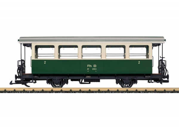 G Personenwagen/2-a. 2.Kl. RhB-3 B2083 NH2020