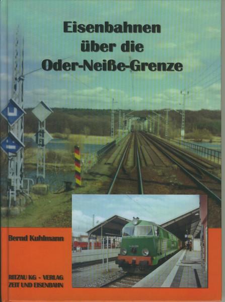 Buch Eisenbahnen über die Oder-Neiße-Grenze