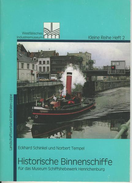 Buch Historische Binnenschiffe für das Museum Schiffshebewerk Henrichenburg
