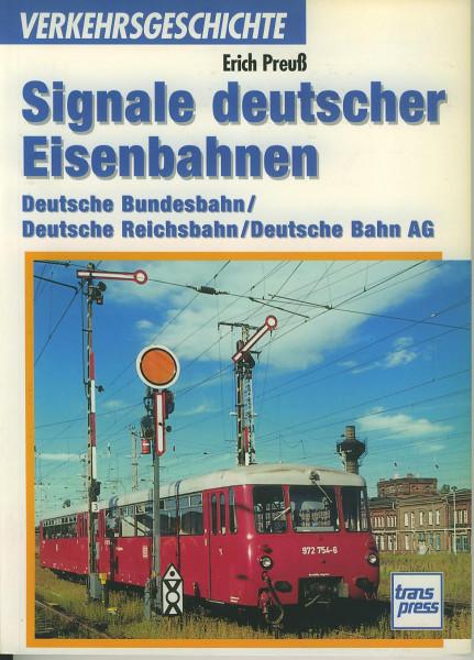 Buch Signale deutscher Eisenbahnen DB / DR / DBAG