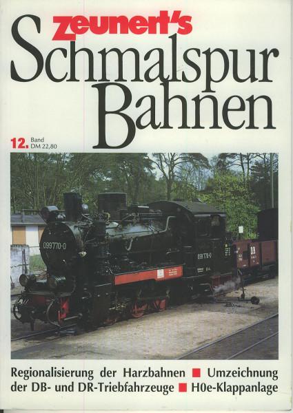 Buch Zeunert's Schmalspurbahnen 12