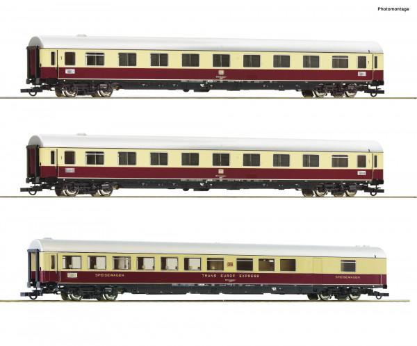 H0 TEE-Wagenset-II 'Roland' DB-Ep.4 3-tlg.