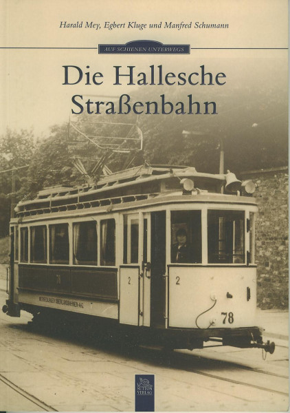 Buch Die Hallesche Straßenbahn