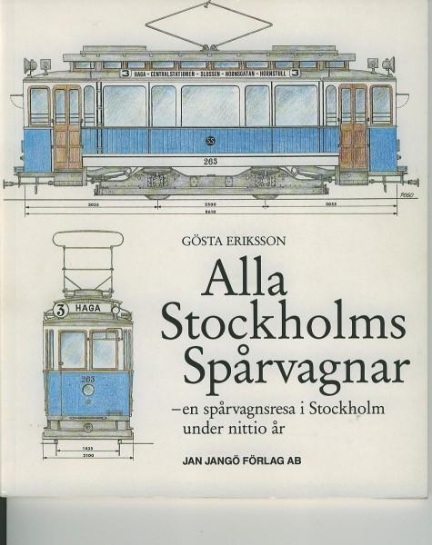 Buch Alla Stockholms Sparvagnar a sparvagnsresa i Stockholm under nitt