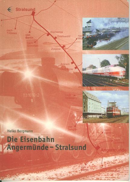 Buch Die Eisenbahn Angermünde-Stralsund