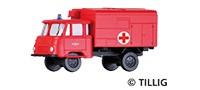 TT Robur LO1801 Koffer-LKW 'Feuerwehr-Krankentransportwagen'