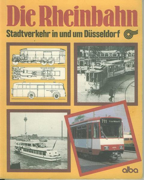 Buch Die Rheinbahn - Stadtverkehr in und um Düsseldorf