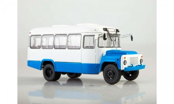43 KAVZ-3270 Bus, blau/weiß