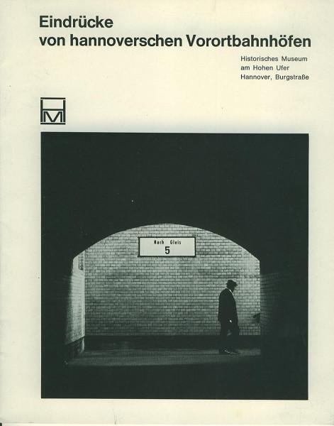Buch Eindrücke von hannoverschen Vorortbahnhöfen