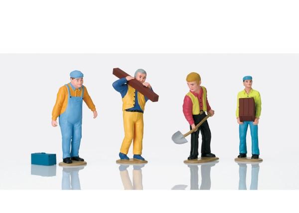 G Figuren-Set 'Arbeiter' 4-tlg. NH2020
