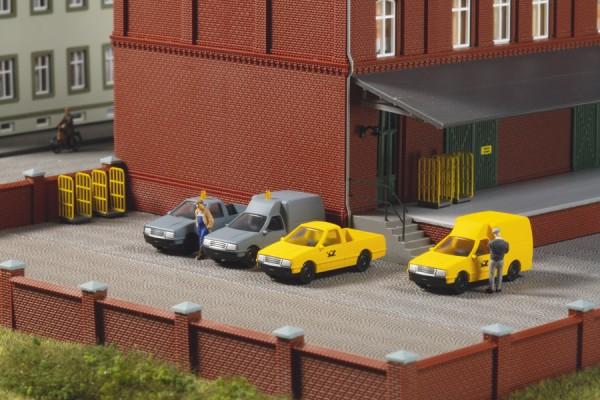 TT Nutzfahrzeuge 'Post' 2*gelb + 2*grau NH2020(07)